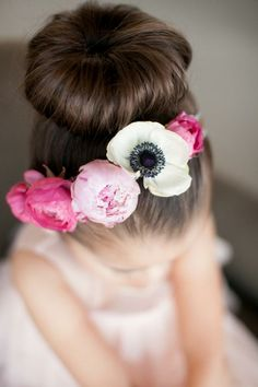 Pretty, fresh headband for the flower girl (or bride!)