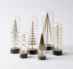 modern brass forest set from dwell studios