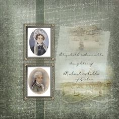 Judy at a Touch of Class: Regency Heritage Quick Scrap page