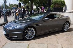Aston Martin by Dancinggecko, via Flickr (photo by me). Now this is the perfect machine!
