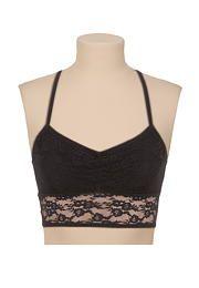 black floral lace ra