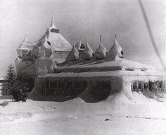 Ice Palace from Dr. Zhivago
