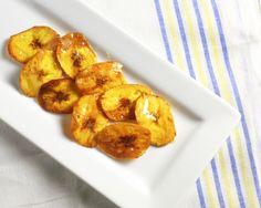 Honey-Glazed Plantain Chips