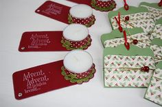 tealight holder & tags