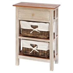 Country-style end table