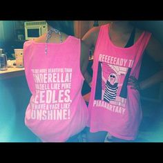 bridesmaids tank   quote from Bridesmaids  would be cute for day of with different sayings and such -- if this shirt exists, I WANT ONE