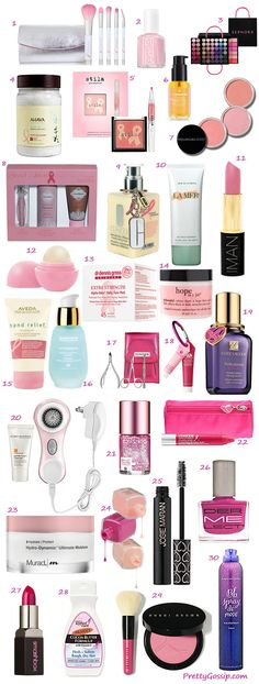 30 Products Supporting Breast Cancer Research in October 2012. Details on where to buy: http://wp.me/p2pDDx-1wS