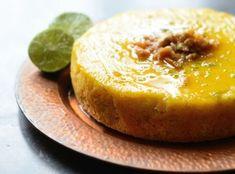 flourless lime coconut cake - lime cake-sized