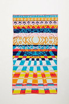 mara hoffman rays beach towel