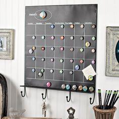 decor, calendar set, chalkboards, idea, crafti, dahlias, craft projects, hous, crafts