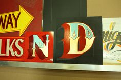 dusty signs gold gilding