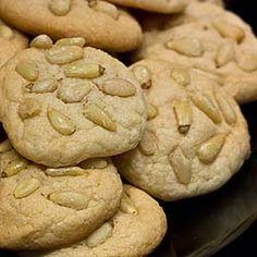 Italian cookies for Christmas - Pignoli!