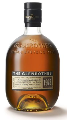 Glenrothes Speyside Single Malt Scotch