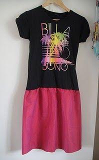 toddler tshirt skirt, tshirt dress, reus fashion, recycled fashion, recycl fashion, dresses, reconstruct tshirt, t shirts, dress idea