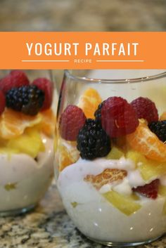 Healthy Yogurt Parfa