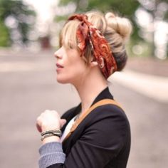 Faux Fringe Hair Tutorial... Get Bangs w/out Cutting your Hair! {and a cute updo as well!} So Easy!