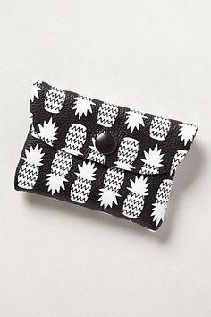 pineapple cardholder via Anthropologie