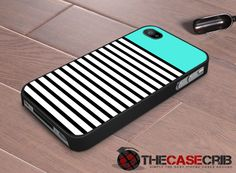 iPhone Case stripes Mint