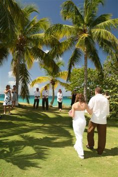 St Thomas destination wedding... we were on the beach..