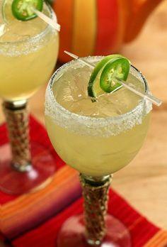 Jalapenos - Try a Jalapeno Margarita