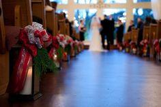 wintery/christmas wedding