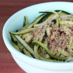 Paleo Pasta Alternative: Zucchini Noodles