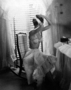 """The Dressing Room"" by Lillian Bassman."