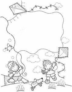 Moldes de painéis para o Dia da Criança | Pra Gente Miúda