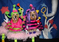 "Cutest Whos from ""Horton Hears a Who"" Dog Costumes... Coolest Halloween Costume Contest"