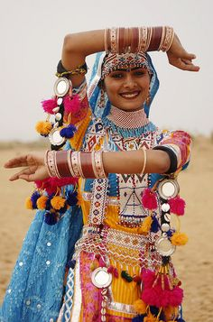 Rajasthan Gypsy...so colorful.