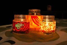 FABRIC TEA LIGHTS