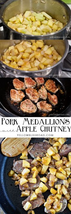 Pork Medallions with