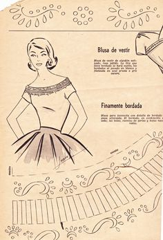 "Boulevard de L'antique ""Retro Scraps"" - Free Image of the day: 1956 Fashion Trends Patterns - #vintage #crafts #retro  http://boulevardelantique-retroscraps.blogspot.com/2013/02/1956-fashion-trends.html"