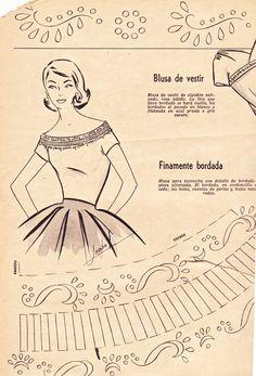 "Boulevard de L'antique ""Retro Scraps"" - Free Image of the day: 1956 Fashion Trends Patterns - #vintage #crafts #retro  http://boulevardelantique-retroscraps.blogspot.com/2013/02/1956-fashion-trends.html"
