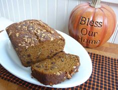 Nuts for Pumpkin Bread with Spelt and Kamut flour