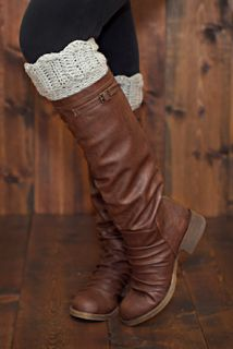 Just be happy!: Boot Cuffs - Free Pattern @Shelly Figueroa Figueroa Martin Mitchell  what color do you want?
