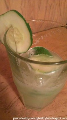Sweet cucumber lemonade #vegan