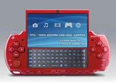 Sony PSP - in red.