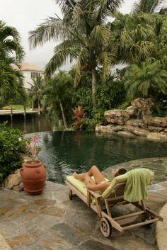 Love the pool area!  Sooooo relaxing.