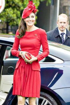 duchess of cambridge, ravish red, kate middleton, middleton style, duchess kate