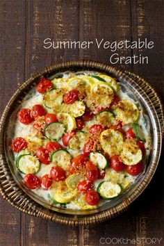 Who's got zucchini??? Summer Squash and Zucchini Gratin