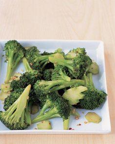 Spicy Broccoli with Garlic Recipe