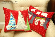 holiday, diari, crafti ladi, tea towels, cushion, pillow covers, hand towels, diy pillows, christma pillow