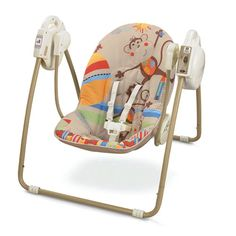 fisher price open top take along swing. $55