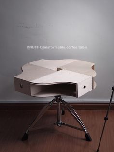 The KNUFF transformable coffee table is the IKEA Hack of 2012