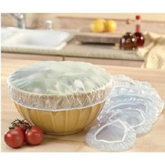 Reusable Poly Bowl Covers