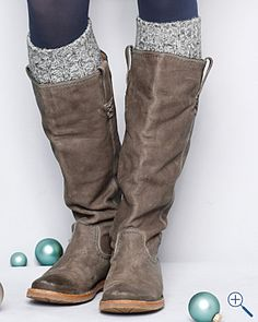 Love the Frye boots and printed socks