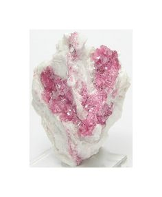 Rose Mica Rare Rosy Pink Mica Crystals Mineral by FenderMinerals,