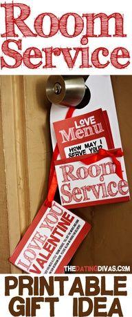 Love Room Service? Yes Please!    #romanceideas #howdoesshe