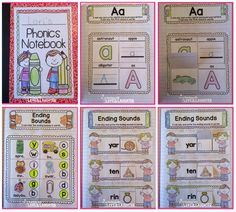 Teaching With Love and Laughter: Kindergarten Phonics Interactive Notebooks